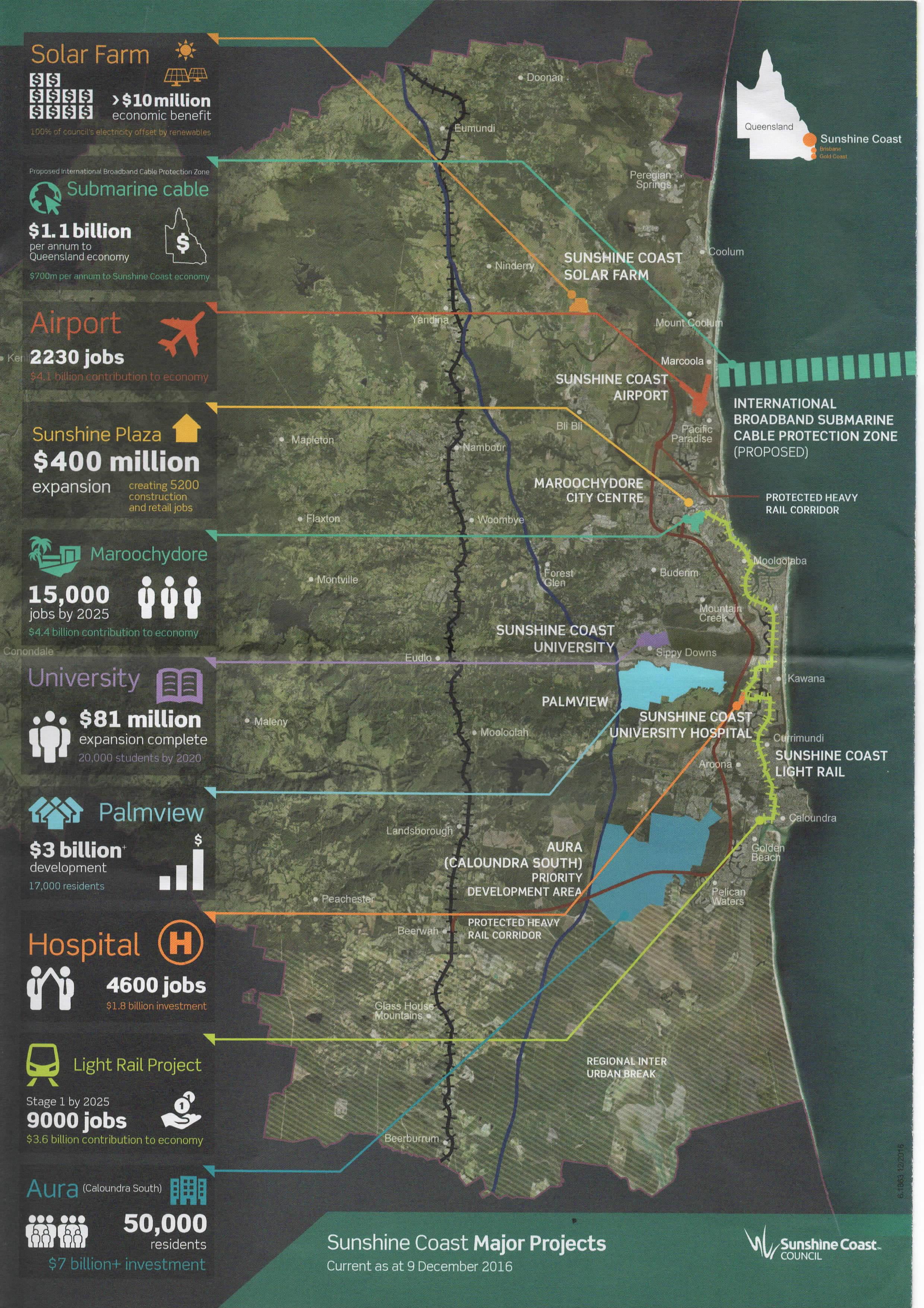 News  Blog Sunshine Coast Alliance Incorporated Association - Map of usc sunshine coast